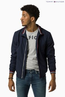 Hilfiger Denim Navy Bomber Jacket
