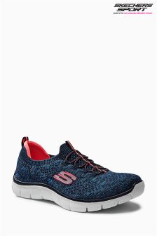 Skechers Navy Empire Slip On Trainer