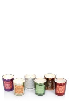 Set Of 6 Fragranced Candles