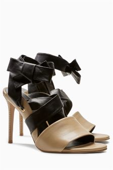 Skinny Wrap Heels