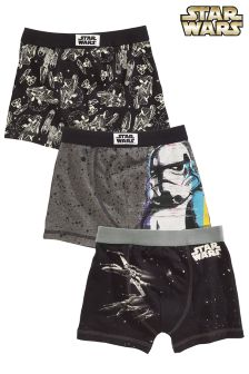 Star Wars™ Winter Trunks Three Pack (3-14yrs)