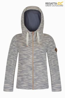 Regatta Grey Marl Full Zip Fleece