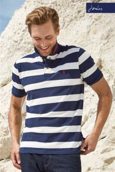 Joules Navy/White Filbert Stripe Polo