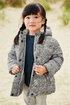 Print Padded Jacket (3mths-6yrs)