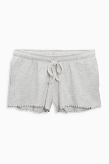 Soft Textured Cotton Rich Shorts