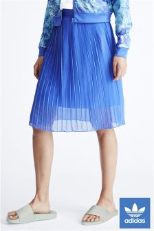 adidas Originals Blue Ocean Pleated Skirt