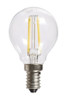 4W LED Filament SES Golf Ball Bulb