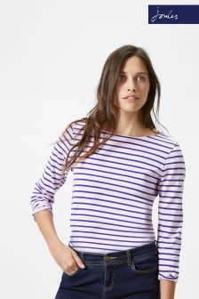 Joules Harbour Pink/Blue Stripe Top