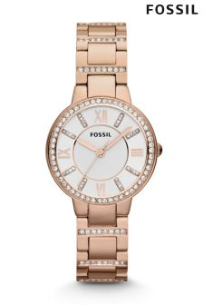 Ladies Fossil™ Virginia Gold Watch