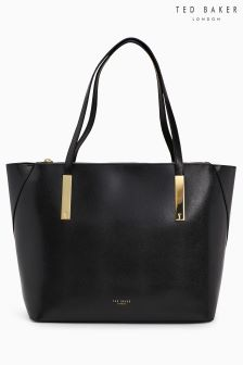 Ted Baker Black Large Poppey Shopper