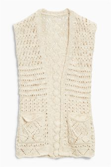 Knitted Waistcoat (3-16yrs)