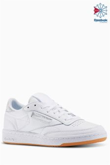 Reebok White Club C Diamond Trainer
