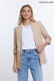Joules Monaco Bright White Linen Trouser