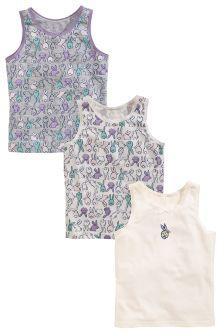 Bunny Vests Three Pack (1.5-12yrs)