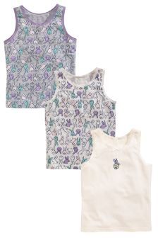 Bunny Vests Three Pack (1.5-12yrs)