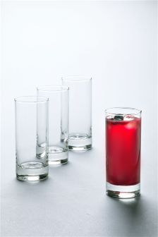 Set Of 4 Simple Tumblers