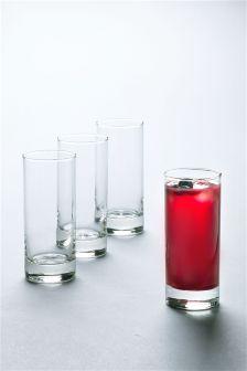 Set Of 4 Simple Tumblers