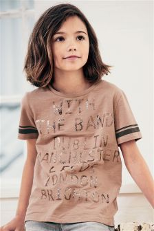 Band T-Shirt (3-16yrs)