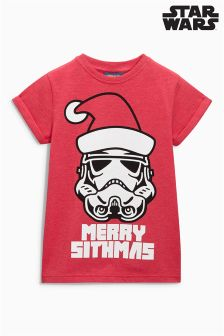 Star Wars™ Christmas T-Shirt (3-14yrs)