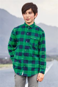 Long Sleeve Buffalo Check Shirt (3-16yrs)