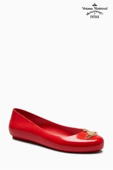 Vivienne Westwood By Melissa Red Space Love Orb Pump