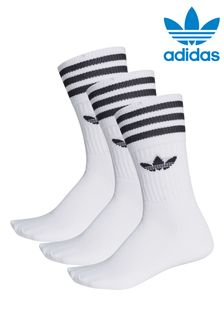 adidas Originals Kids Trefoil Crew Socks 3 Pack