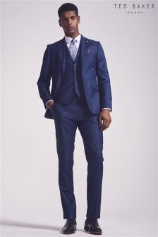 Ted Baker Blue CanbooJ Suit: Jacket
