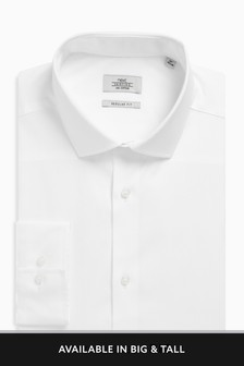 Poplin Mini Collar Shirt
