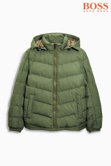 Boss Orange Khaki Padded Jacket
