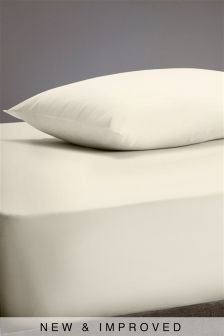 300 Thread Count Crisp & Fresh Egyptian Cotton Extra Deep Fitted Sheet