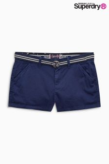 Superdry Navy International Hot Short