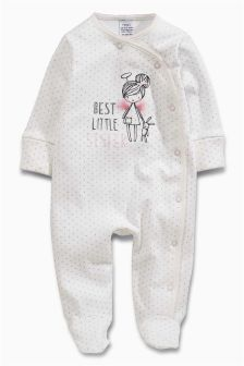 Sister Fairy Sleepsuit (0-18mths)