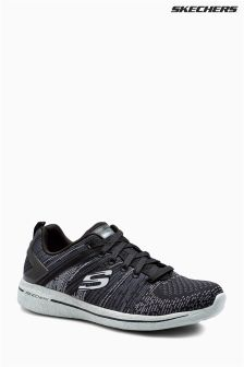 Skechers® Black Abstract Burst 2.0 Trainer