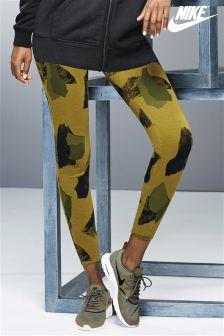 Nike Khaki Camouflage Legasee Tight