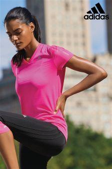 adidas Run Pink Tee