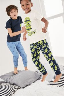 Zap Pyjamas Two Pack (3-16yrs)