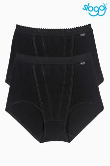 Sloggi Control Maxi Briefs Two Pack
