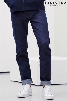 Selected Homme Rinse Wash Slim Fit Jean