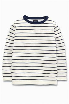 Stripe Crew Neck Jumper (3mths-6yrs)
