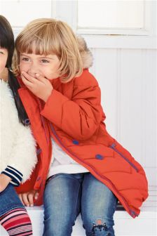 Padded Longline Jacket (3mths-6yrs)