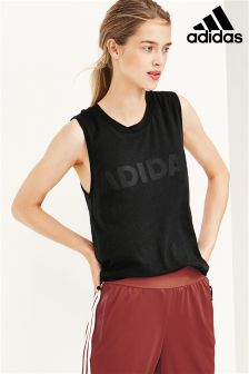adidas Black Away Day Tank