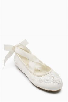 Embellished Ballet Shoes (Older Girls)