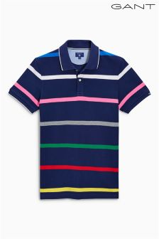 Gant Navy Stripe Polo