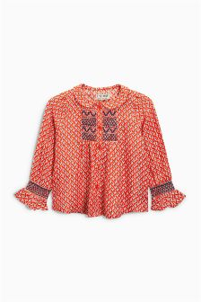 Geo Print Blouse (3mths-6yrs)