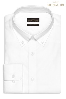 Signature Shirt With Button Down Collar