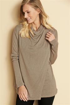Knit Look Nursing Top