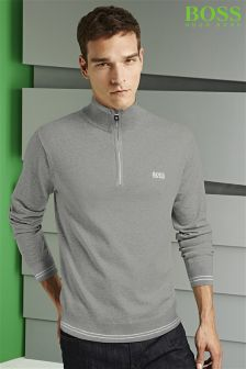 Boss Green Zime Zip Neck Knit