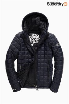 Superdry Navy Box Quilt Fuji Jacket