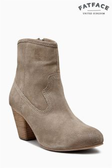Fat Face Stone Oake Heel Ankle Boot