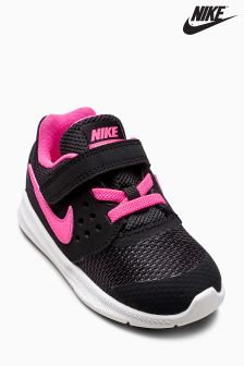 Nike Black/Pink Downshifter
